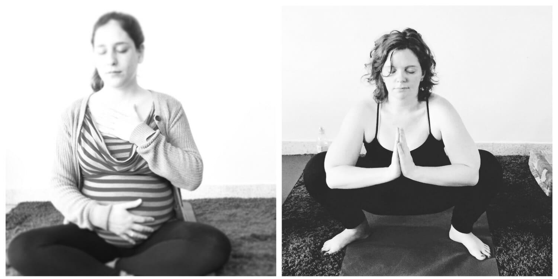 mama yoga שירלי מן לוגו